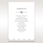 White Everly - Order of Service - Wedding Stationery - 72