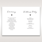 Brown Rustic Woodlands - Order of Service - Wedding Stationery - 47