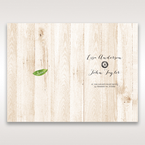 Brown Rustic Woodlands - Order of Service - Wedding Stationery - 48