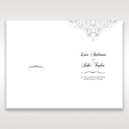 White An Elegant Beginning - Order of Service - Wedding Stationery - 80