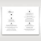 Brown Rustic Woodlands - Menu Cards - Wedding Stationery - 13