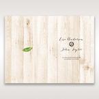 Brown Rustic Woodlands - Menu Cards - Wedding Stationery - 14
