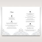 White An Elegant Beginning - Menu Cards - Wedding Stationery - 45