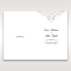 White An Elegant Beginning - Menu Cards - Wedding Stationery - 46