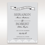 White Traditional Romance - Save the Date - Wedding Stationery - 70