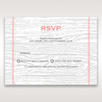 Brown Eternity - RSVP Cards - Wedding Stationery - 39