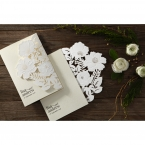 Elegant Floral Laser Cut wedding invitations HB15087_10
