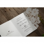 Elegant Floral Laser Cut wedding invitations HB15087_11