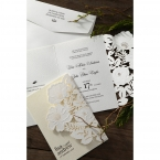 Elegant Floral Laser Cut wedding invitations HB15087_13