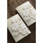 Elegant Floral Laser Cut wedding invitations HB15087_14
