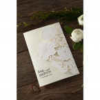 Elegant Floral Laser Cut wedding invitations HB15087_3