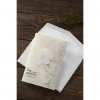 Elegant Floral Laser Cut wedding invitations HB15087_4