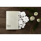 Elegant Floral Laser Cut wedding invitations HB15087_8