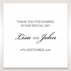 Embossed Date gift tag DF14131