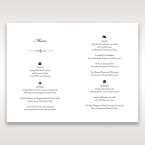 Embossed Date menu card DM14131_2