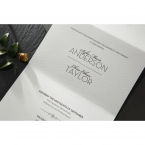 Embossed Date wedding invitations HB14131_5