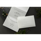 Embossed Date wedding invitations HB14131_6