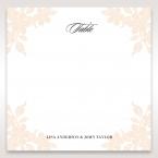 Embossed Floral Frame table number card DT15106