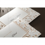 Embossed Floral Frame wedding invitations HB15106_13