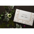Embossed Floral Frame wedding invitations HB15106_3