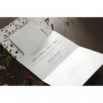Embossed Floral Frame wedding invitations HB15106_8