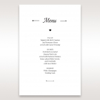 Embossed Frame menu card DM116025