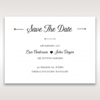 Embossed Frame save the date DS116025
