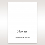 Embossed Frame thank you card DY116025