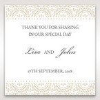 White Amabilis - Gift Tags - Wedding Stationery - 12