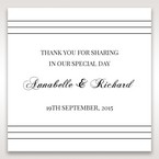 White Modern Pocket-Grey - Gift Tags - Wedding Stationery - 13