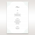 Framed Elegance menu card DM15104