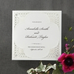 Framed Elegance wedding invitations HB15104