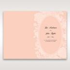 Pink Rustic Garden Laser Cut Pocket - Order of Service - Wedding Stationery - 96