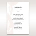 Orange Mystic Forest - Order of Service - Wedding Stationery - 44