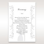 White Promise - Order of Service - Wedding Stationery - 93