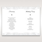 White White Dress - Order of Service - Wedding Stationery - 44