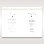 White Amabilis - Order of Service - Wedding Stationery - 70