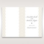 White Amabilis - Order of Service - Wedding Stationery - 71