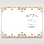 Golden Antique Pocket menu card DM11090_1