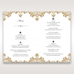 Golden Antique Pocket menu card DM11090_2