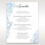 Graceful Wreath Pocket accommodation card DA11128