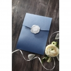 Graceful Wreath Pocket engagement invitations IAB11128-E_1