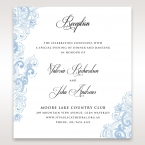 Graceful Wreath Pocket reception card DC11128