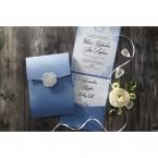 Graceful Wreath Pocket wedding invitations IAB11128_3