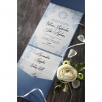 Graceful Wreath Pocket wedding invitations IAB11128_4