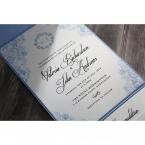 Graceful Wreath Pocket wedding invitations IAB11128_7