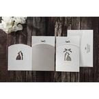 Silver/Gray Wedded Bliss - Wedding invitation - 77