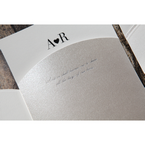 Silver/Gray Wedded Bliss - Wedding invitation - 78