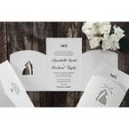 Silver/Gray Wedded Bliss - Wedding invitation - 80