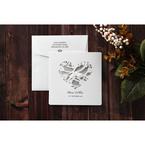 Silver/Gray Natural Charm - Wedding invitation - 9